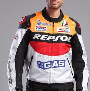 Uomo Moto GP Moto Repsol Racing Giacca in pelle da corsa Giacche da corsa Moto Guida in pelle PU Giacca in pelle Cappotto da uomo
