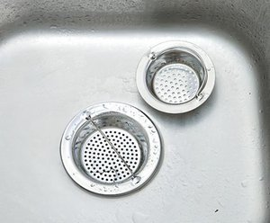 new kitchen sink Strainers net E396 anti-plugging portable stainless steel filter clutter sink filter net wear well