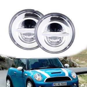 2PCS 7inch 36W phare rond LED, approuvé par le DOT 6000K lumière courante pour Jeep Wrangler JK TJ LJ