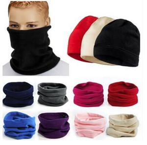 2018 populaire polaire chaude polaire chapeau de snood réchauffe-nuque ski wear foulard beanie balaclava