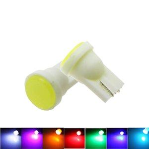 T10 194 W5W интерьер LED 1 COB авто Клин двери лампы инструмент огни боковой маркер лампы автомобилей стайлинг 7 цветов