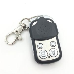 Controle Remoto Sem Fio Universal 433 Mhz Copiar Código Remoto 4 Canal Elétrico Clonagem Portão Da Porta Da Garagem Auto Keychain