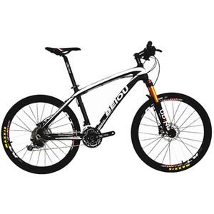 vente en gros carbone 26 pouces vélo de montagne hardtail trail vélo 30 vitesses S H I M a n o M610 DEORE VTT 10,8 kg multicolore BOCB05