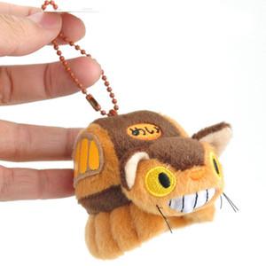 """أعلى الجديدة 4 """"10CM جارتي Totoro دمية القطيفة النادرة الحلي المعلقات محشوة هدايا ألعاب محشوة"""