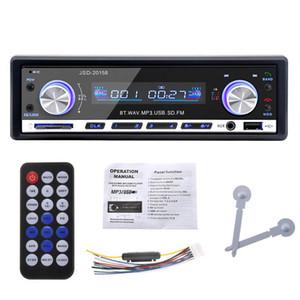 Autoradio 1 DIN 12V 자동차 오디오 BLUETOOTH 스테레오 인 대시 FM 수신기 Aux 입력 USB / SD 오디오 MP3 자동차 라디오 JSD-20158