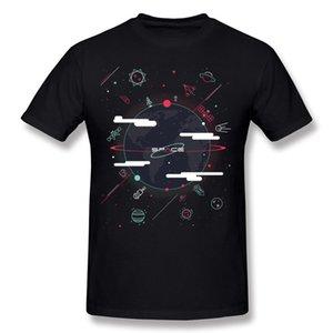 도매 성인 100면 Spacerama 티셔츠 성인 Crewneck 레드 라운드 칼라 티셔츠 빅 사이즈 Normal Tee-Shirt