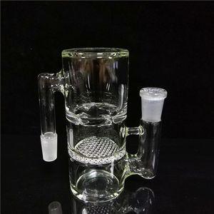 vetro bong Ash Catchers caffettiera a filtro 14 millimetri maschio a femmina Per acqua Bong