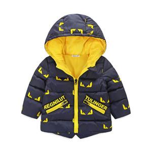 Bebek Erkek Çocuk Kabanlar coat için Rahat çocuklar ceketler Erkek Kış ceket Sıcak Çocuk kapşonlu Çocuk Tişörtü erkek Giyim