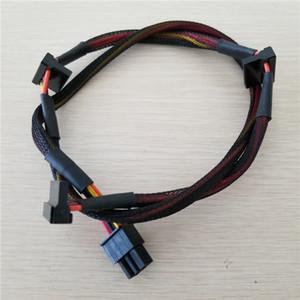 Modular PSU 6 clavijas a 3 80cm puerto SATA Cable de alimentación 18 AWG alambre para NP TP Serie ECO