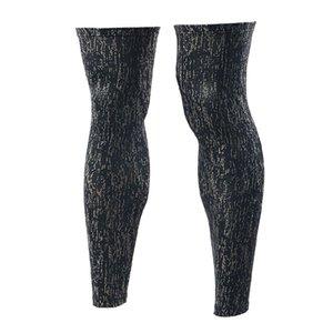 Reflective compression cyclisme Legwarmers sécurité Courir Legging de basket-ball de football Collants de sport Glow In Night