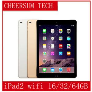 "Refurbished iPad 100% Original Apple iPad2 16GB 32GB 64GB Wifi iPad 2 Apple Tablet PC 9.7"" IOS refurbished Tablet 5pcs free DHL"