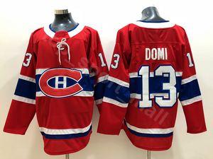 2019 Neu 13 Max Domi Jersey Montreal Canadiens 100. Klassischer Hockey Carey Preis Shea Weber Andrew Shaw Brendan Gallagher Alex Galchenyuk