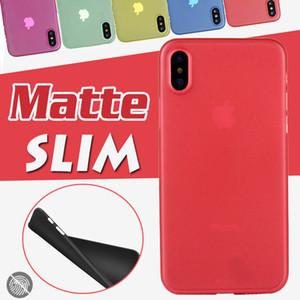 0.3mm ultra delgado delgado colorido mate caramelo transparente flexible suave PP funda para iPhone 11 Pro Max XS XR X 8 7 6 6S Plus envío gratis