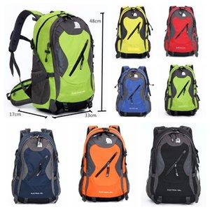 7 Renkler Kuzey F Seyahat Sırt Çantaları Gençler Çanta Rahat Yürüyüş Kamp Sırt Su Geçirmez Açık Havada Spor Çantaları Çok Cepler