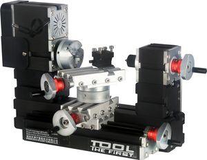 Mini torno de giro do metal de TZ20002MR 60W / 60W, mini torno do poder grande de 12000rpm