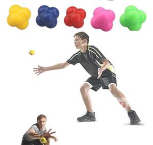 agilité coordination balle de réflexe vitesse entraînement balle rebondissante vitesse de réaction tPR balle boules de réaction hexagonales exercice de yoga