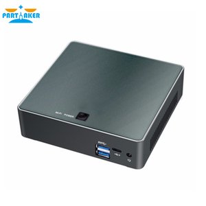 Причастным Nuc Mini PC i7 8550U Quad Core ОС Windows 10 Pro DDR4 Max 16GB Wifi AC Mini Компьютер HD Typc-C