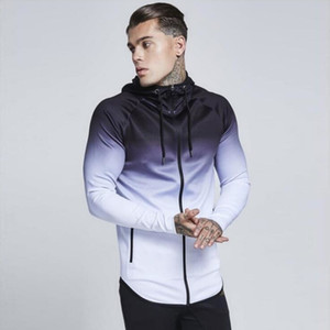 Doudoune Automne Hiver Hommes De Course Veste À Capuche Sweat Sport Haut Formation Joggers Gym Vêtements Fitness Chaud Hommes