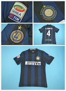 2013-2014 inter zanetti retirado retro jerseys 4 # J.Zanetti CLASSIC jersey