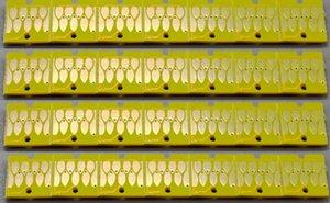 2 piezas / lote, chip permanente, chip de auto reset para Epson