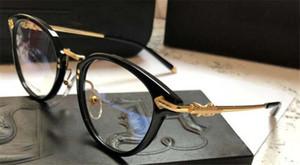 جديد شعبي الرجعية الرجال النظارات البصرية FANX أسلوب فاسق مصمم إطار مربع الرجعية مع مربع من الجلد HD عدسة أعلى جودة