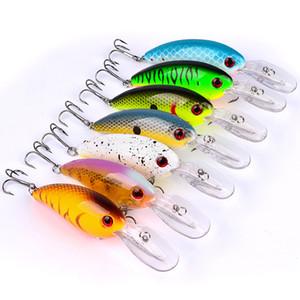 10cm 7 colori Crankbait Artificial Fishing Lure Crank Baits 14.52g / pc