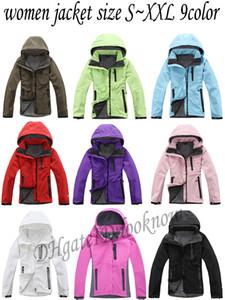 All'ingrosso-The Women north Softshell giacca cappotto uomo all'aperto Sport cappotti donna sci escursionismo antivento invernale Outwear giacca Soft Shell