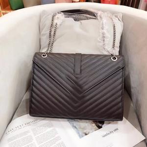 Бесплатная доставка Новый европейский стиль классический дамы сумка Сумка Сумка плеча ITBag чистый благородный мягкий 31 см решений