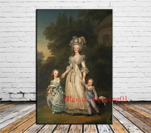 Queen Marie Antoinette, Canvas Pieces Home Decor HD Impreso pintura de arte moderno sobre lienzo (Sin enmarcar / Enmarcado)