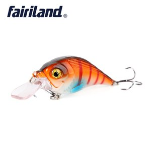 1pcs Lifelike Minnow 11g / 0.39oz 6cm / 2.4in rígido Iscas Minnow Fishing Lure 10 cores Float Crankbait Artificial Wobblers da pesca