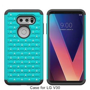 Samsung galaxy j7 2017 için bling kristal kılıfları j3 2017 on5 2016 silikon + pc + tpu kir dayanıklı darbeye yüksek kaliteli cep telefonu case