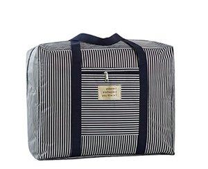 Bolsa de equipaje Oxford de tela plegable Bolsa de viaje Bolsa de viaje Bolsa de viaje impermeable Bolsa de viaje de tela