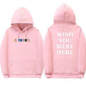 2018 Travis Scott Astroworld hoodies hommes / femmes Les hommes occasionnels automne sweat à capuche manches longues Hip Hop streetwear