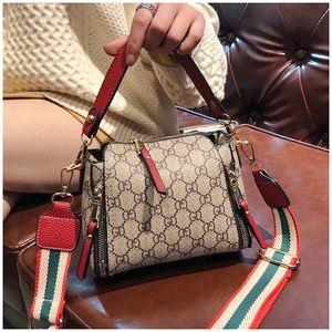 Nouveau Style sacs à main en cuir avec empiècements en bandoulière messengerTote Femmes Cross Body Bag Bucket Bag Sacs à bandoulière avec anneau Bolsa Feminina Katuo / 10