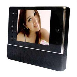 Quente! 3.5 polegada Tela Doorbell Peephole Visualizador Digital Doorchime com Câmera DVR Infravermelha LCD Night Vision 3-Tempo-Zoom Da Porta Bell