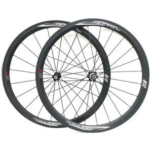 38mm 자전거 바퀴 Tubular 정면과 후방 700C 도로 자전거 Wheelset UD 매트 Novatec 허브 표면 NGT 제일 질
