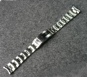 2018 nouvelle mode bonne boucle déployante 316 bracelet en acier inoxydable montres largeur 20MM fabrication montre accessoires ceinture de remplacement
