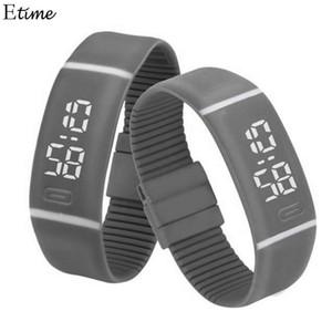 FANALA Reloj Deportivo Mujer Hombre Caucho LED Reloj Digital Fecha Pulsera Relojes de pulsera relogio masculino