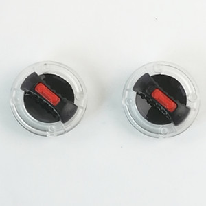 HZYEYO 2PCS / LOT durable Interruptor visera de la lente Base Casco Accesorios Para .Ls2 FF370, FF387, FF310, FF396, FF394, FF358, Modelo OF569