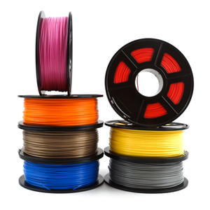 Impresora 3D de alta calidad PLA Filamento Filamento 1,75 mm de dimensiones Precisión +/- 0,02 mm 1kg 360M 3D material de impresión de filamento para RepRap
