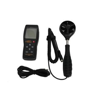 Akıllı Sensör AS856 el Dijital anemometre rüzgar hızı ölçer yönü