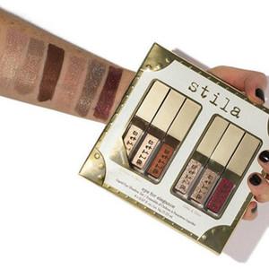Бесплатная доставка по ePacket Новый набор для макияжа Eyes For Elegance Shimmer Glitter Liquid EyeShadow 6 шт. Набор теней для век для путешествий