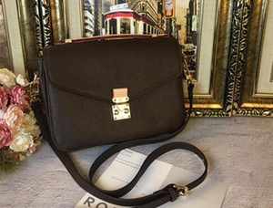 Классический Сумка кожаная женская сумка кошелек Pochette Metis Totes одного плеча мешки печати цветок Crossbody сумки M40780