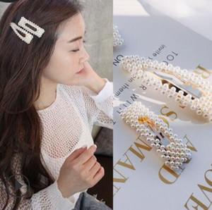 pinces à cheveux bijoux de cheveux pour femmes perles filles Hais clips BB broches classiques chaud fahiosn gratuitement expédition