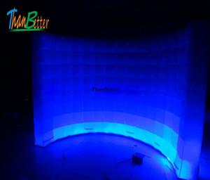 حار بيع نفخ ضوء خلفية الصورة كشك الجدار الإعلان الجدار ، أدى نفخ الجدار