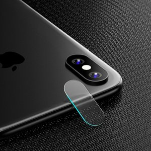 ل iPhone X 8 7 6 6S Plus Accessory Back Camera Lens لاصق واقي شاشة غطاء كامل زجاج مقسى ل iPhone 8 7 6 X