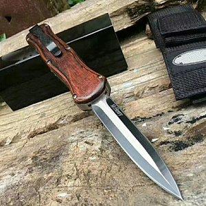 الخشب التكتيكية الفولاذ العمل جيب d2 مقاعد البدلاء الصيد الدفلة المحمولة السكاكين المخيم سكاكين التبديل سبيكة الألومنيوم WRVQQ