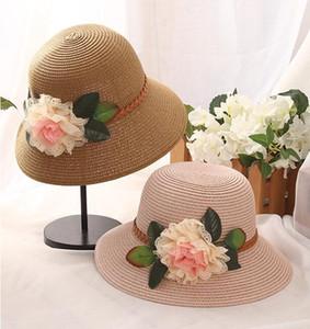 Chapeaux d'été à larges bords chapeaux de paille chapeaux d'église chapeau de plage souple chapeau ajusté chapeau chapeau de plage à larges bords pour dames femmes bonnet de soleil suncreen caps 7 couleurs