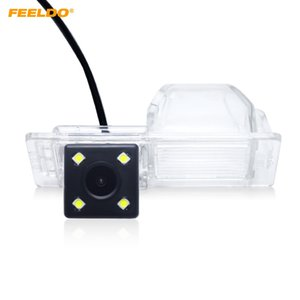 FEELDO سيارة كاميرا للرؤية الخلفية مع 4 LED لبويك لاكروس GL8 GT سيدان سيم CHEVROLET AVEO SONIC كاديلاك CTS / SRX # 2816