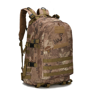 Militaire Tactical Assault Sac À Dos Randonnée Sac Étanche 40L Grand Sac À Dos Molle Bug 3D Sacs En Plein Air Voyage Camping Trekking